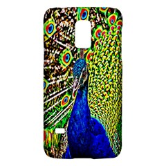 Graphic Painting Of A Peacock Galaxy S5 Mini by Simbadda