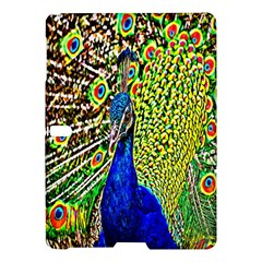 Graphic Painting Of A Peacock Samsung Galaxy Tab S (10 5 ) Hardshell Case  by Simbadda