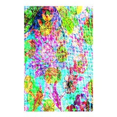 Bright Rainbow Background Shower Curtain 48  X 72  (small)  by Simbadda