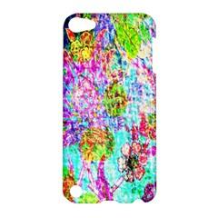 Bright Rainbow Background Apple Ipod Touch 5 Hardshell Case by Simbadda