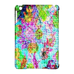 Bright Rainbow Background Apple Ipad Mini Hardshell Case (compatible With Smart Cover) by Simbadda