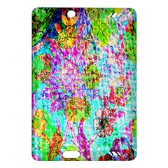 Bright Rainbow Background Amazon Kindle Fire Hd (2013) Hardshell Case by Simbadda