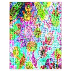 Bright Rainbow Background Drawstring Bag (large) by Simbadda