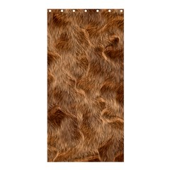 Brown Seamless Animal Fur Pattern Shower Curtain 36  X 72  (stall)  by Simbadda
