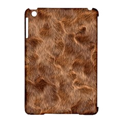 Brown Seamless Animal Fur Pattern Apple Ipad Mini Hardshell Case (compatible With Smart Cover) by Simbadda