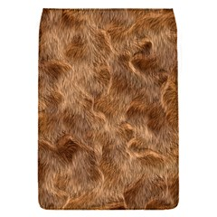 Brown Seamless Animal Fur Pattern Flap Covers (s)  by Simbadda