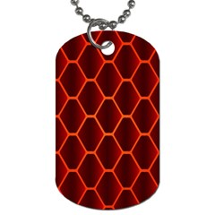Snake Abstract Pattern Dog Tag (Two Sides) by Simbadda