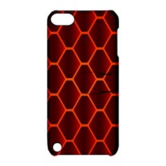 Snake Abstract Pattern Apple Ipod Touch 5 Hardshell Case With Stand by Simbadda