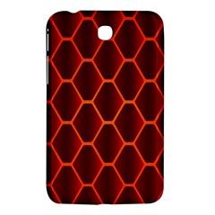 Snake Abstract Pattern Samsung Galaxy Tab 3 (7 ) P3200 Hardshell Case  by Simbadda