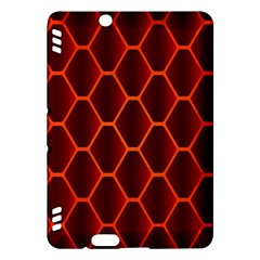 Snake Abstract Pattern Kindle Fire Hdx Hardshell Case by Simbadda