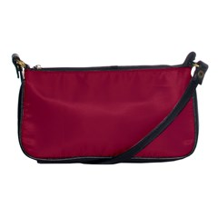 Heart Pattern Background In Dark Pink Shoulder Clutch Bags by Simbadda