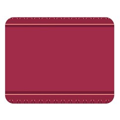 Heart Pattern Background In Dark Pink Double Sided Flano Blanket (large)  by Simbadda