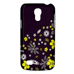 Vintage Retro Floral Flowers Wallpaper Pattern Background Galaxy S4 Mini by Simbadda