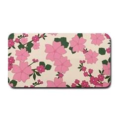 Vintage Floral Wallpaper Background In Shades Of Pink Medium Bar Mats by Simbadda