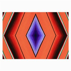 Diamond Shape Lines & Pattern Large Glasses Cloth (2 Side) by Simbadda