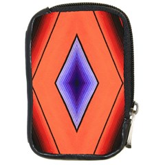 Diamond Shape Lines & Pattern Compact Camera Cases by Simbadda