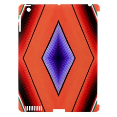 Diamond Shape Lines & Pattern Apple Ipad 3/4 Hardshell Case (compatible With Smart Cover) by Simbadda