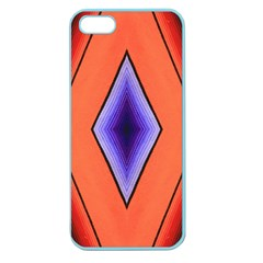 Diamond Shape Lines & Pattern Apple Seamless Iphone 5 Case (color) by Simbadda