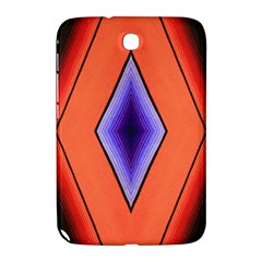 Diamond Shape Lines & Pattern Samsung Galaxy Note 8 0 N5100 Hardshell Case  by Simbadda