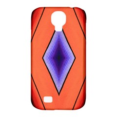 Diamond Shape Lines & Pattern Samsung Galaxy S4 Classic Hardshell Case (pc+silicone) by Simbadda