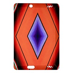 Diamond Shape Lines & Pattern Amazon Kindle Fire Hd (2013) Hardshell Case by Simbadda