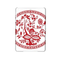 Red Vintage Floral Flowers Decorative Pattern Ipad Mini 2 Hardshell Cases by Simbadda