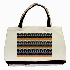 Abstract Elegant Background Pattern Basic Tote Bag by Simbadda