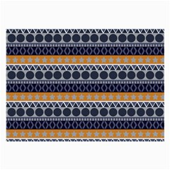 Abstract Elegant Background Pattern Large Glasses Cloth (2 Side) by Simbadda