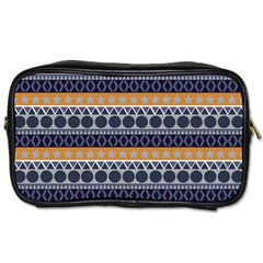 Abstract Elegant Background Pattern Toiletries Bags 2 Side by Simbadda