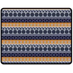 Abstract Elegant Background Pattern Fleece Blanket (medium)  by Simbadda