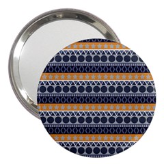 Abstract Elegant Background Pattern 3  Handbag Mirrors by Simbadda