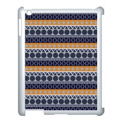 Abstract Elegant Background Pattern Apple Ipad 3/4 Case (white) by Simbadda