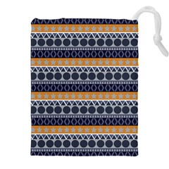 Abstract Elegant Background Pattern Drawstring Pouches (xxl) by Simbadda