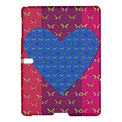 Butterfly Heart Pattern Samsung Galaxy Tab S (10 5 ) Hardshell Case  by Simbadda