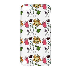 Handmade Pattern With Crazy Flowers Apple Ipod Touch 5 Hardshell Case by Simbadda