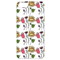 Handmade Pattern With Crazy Flowers Apple iPhone 5 Classic Hardshell Case