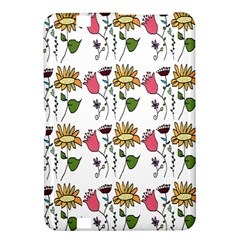 Handmade Pattern With Crazy Flowers Kindle Fire Hd 8 9  by Simbadda