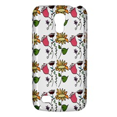 Handmade Pattern With Crazy Flowers Galaxy S4 Mini by Simbadda