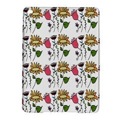 Handmade Pattern With Crazy Flowers Ipad Air 2 Hardshell Cases by Simbadda
