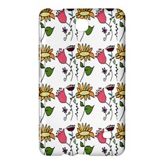 Handmade Pattern With Crazy Flowers Samsung Galaxy Tab 4 (7 ) Hardshell Case  by Simbadda