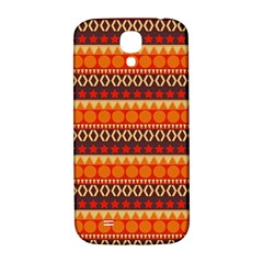 Abstract Lines Seamless Pattern Samsung Galaxy S4 I9500/i9505  Hardshell Back Case by Simbadda
