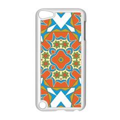 Digital Computer Graphic Geometric Kaleidoscope Apple Ipod Touch 5 Case (white) by Simbadda