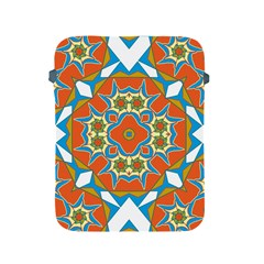 Digital Computer Graphic Geometric Kaleidoscope Apple Ipad 2/3/4 Protective Soft Cases by Simbadda