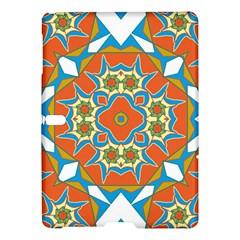 Digital Computer Graphic Geometric Kaleidoscope Samsung Galaxy Tab S (10 5 ) Hardshell Case  by Simbadda