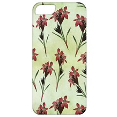 Vintage Style Seamless Floral Wallpaper Pattern Background Apple Iphone 5 Classic Hardshell Case by Simbadda