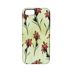 Vintage Style Seamless Floral Wallpaper Pattern Background Apple Iphone 5 Classic Hardshell Case (pc+silicone) by Simbadda