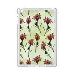Vintage Style Seamless Floral Wallpaper Pattern Background Ipad Mini 2 Enamel Coated Cases by Simbadda