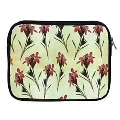 Vintage Style Seamless Floral Wallpaper Pattern Background Apple Ipad 2/3/4 Zipper Cases by Simbadda