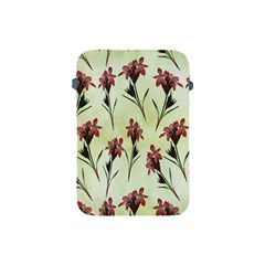 Vintage Style Seamless Floral Wallpaper Pattern Background Apple Ipad Mini Protective Soft Cases by Simbadda
