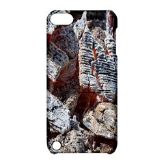 Wooden Hot Ashes Pattern Apple Ipod Touch 5 Hardshell Case With Stand by Simbadda